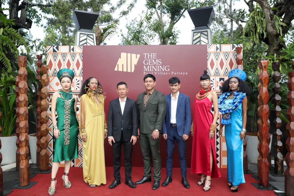 The Gems Mining Pool Villas Pattaya celebrates the Grand Opening in style
