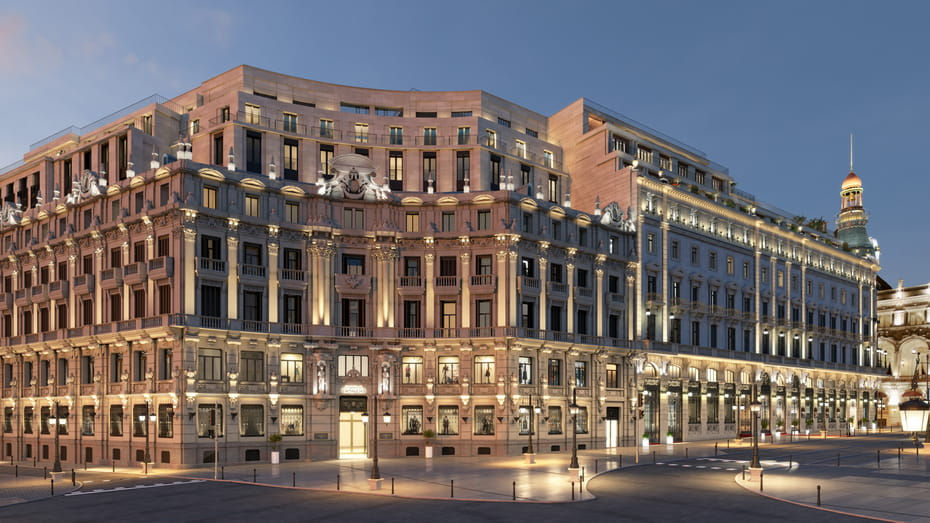 Four Seasons Hotel and Private Residences Madrid finally open
