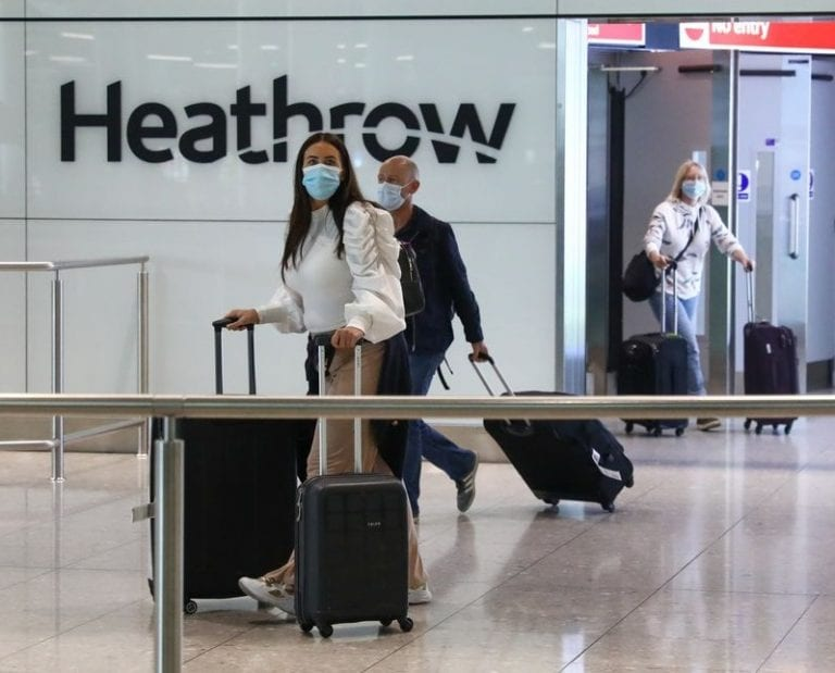 Heathrow reminds passengers of COVID-19 guidelines ahead of Christmas getaway