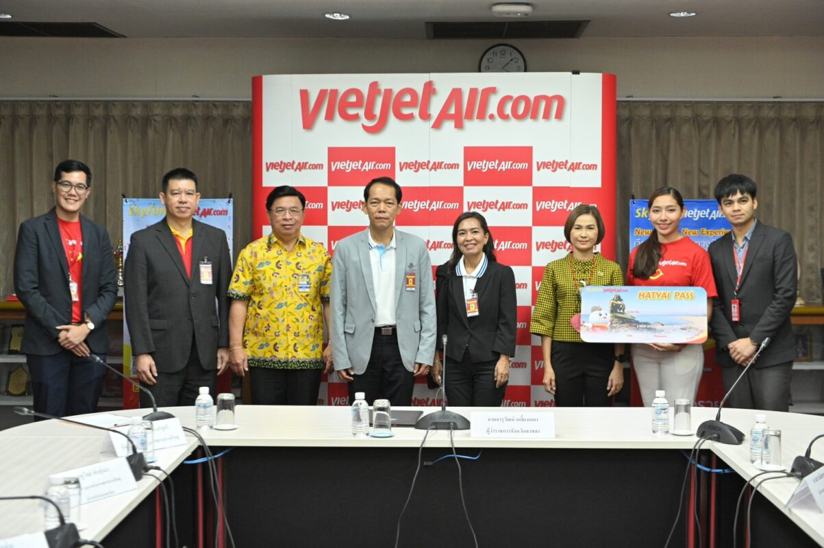 Vietjet spreads wings with new Hat Yai-Chiang Rai route in Thailand