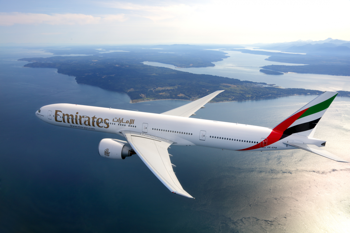 Emirates operates first fully vaccinated flight