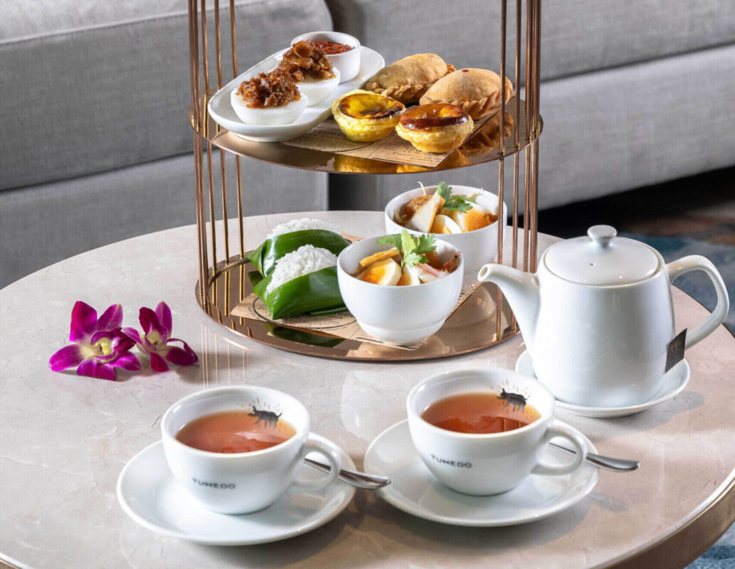 Singapore-themed afternoon tea, anyone?